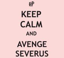 Keep Calm and Avenge Severus Kids Clothes