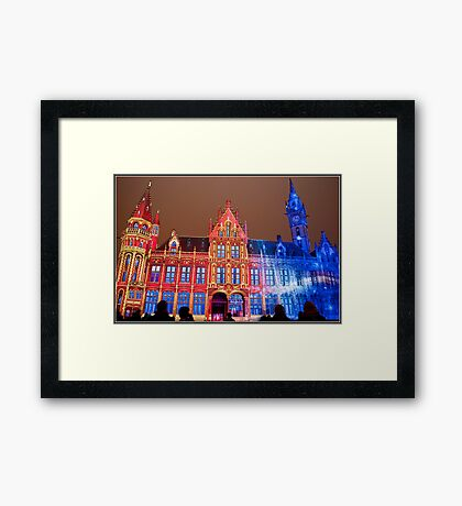 Light Festival Framed Print
