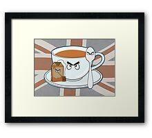 Tea fury Framed Print