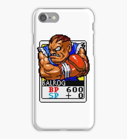 Balrog - Street Fighter iPhone Case/Skin