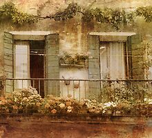 Romantic vintage balcony. by cloud7