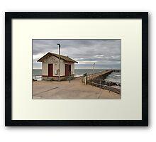 St Leonards Pier - Bellarine Peninsula Framed Print
