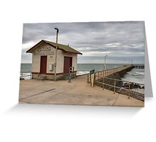 St Leonards Pier - Bellarine Peninsula Greeting Card