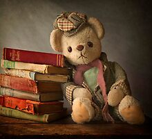 Teddy with Books by Patricia Jacobs CPAGB LRPS BPE3