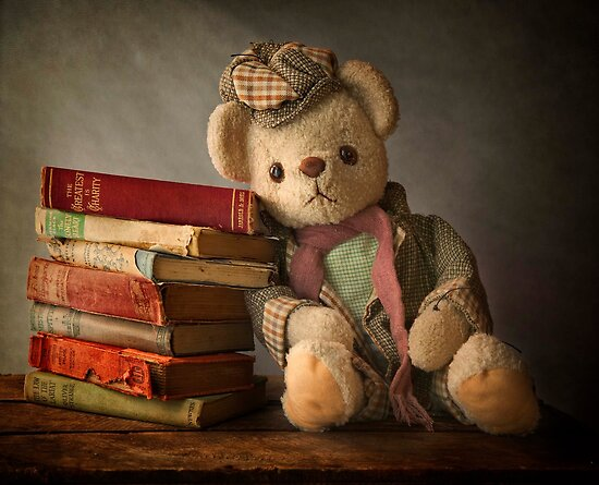 Teddy with Books by Patricia Jacobs CPAGB LRPS BPE4