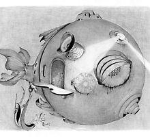 submarine by Olga Žuravļova