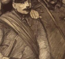 Théophile Alexandre Steinlen Journee serbe Affiche de solidarité française en 1916 Sticker