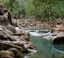Stony Creek, Byfield - Central Queensland.  by Margaret Stanton