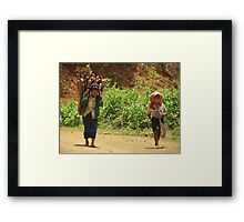 New Generation Following the Old Framed Print