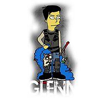 Glenn Rhee Character Photographic Print