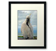 Munchies...nom nom! Framed Print