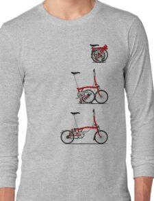 I Love My Folding Brompton Bike Long Sleeve T-Shirt