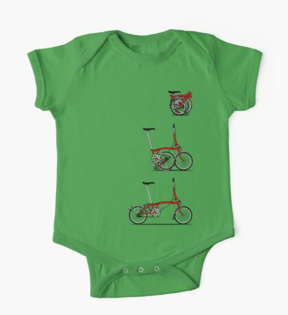 I Love My Folding Brompton Bike Kids Clothes