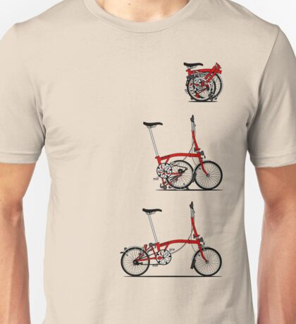 I Love My Folding Brompton Bike Unisex T-Shirt