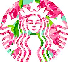 Floral Starbucks (Lilly Pulitzer) by waybra
