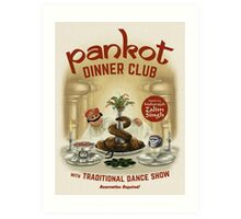 Pankot Dinner Club Art Print