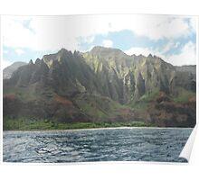 Na Pali Coast, Kauai, Hawaii Poster