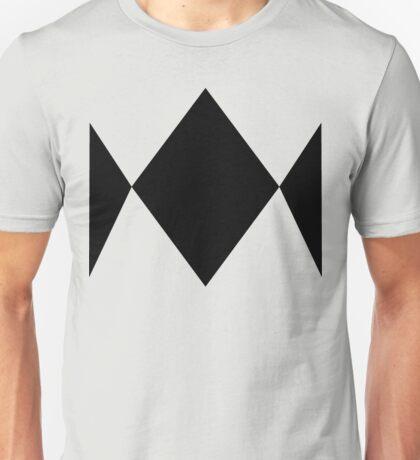 Basic Power Ranger - Black Diamond Style Unisex T-Shirt