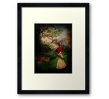 The Babe is Here! Framed Print