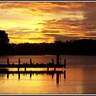 Lake Ginninderra Sunrise by shortshooter-Al