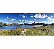 Loch Buine Moire Photographic Print