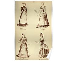Fancy dresses described or What to wear at fancy balls by Ardern Holt 218 Nurse Night Elivia Primrose Tunchinella Poster