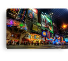 42nd Street NYC Canvas Print