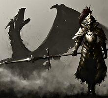 Dark Souls 2/II Digital Art/ Drawing by MrLophanor47