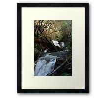 Strickland Ave Falls 3 Framed Print