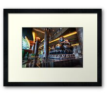 Vegas Buddha Framed Print