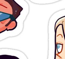 cool kids 2 Sticker