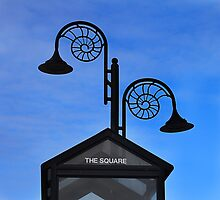 Square and circles. by Paul Pasco