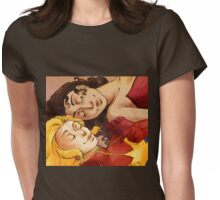 The Captain and the Sorceress Womens Fitted T-Shirt