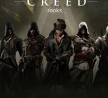 Assassin's Creed Cast and Characters Digital Art Sticker