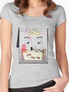 Don't Hug Me I'm Creative Women's Fitted Scoop T-Shirt