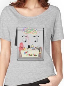Don't Hug Me I'm Creative Women's Relaxed Fit T-Shirt