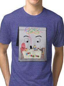 Don't Hug Me I'm Creative Tri-blend T-Shirt