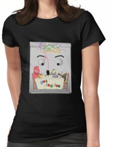 Don't Hug Me I'm Creative Womens Fitted T-Shirt