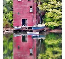 Robinhood Cove, Maine by Richard Bean