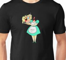 Dinner is served. Unisex T-Shirt