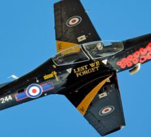 Lest We Forget Tucano Sticker