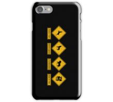 Danger Ahead iPhone Case/Skin