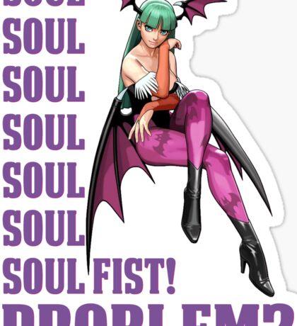Morrigan Soul Fist Sticker