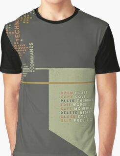 New Technology Commands Graphic T-Shirt