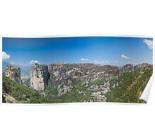 Meteora, Greece Poster