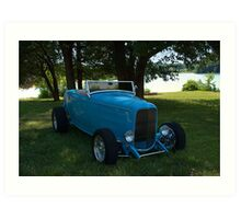 1932 Ford Roadster Hot Rod Art Print