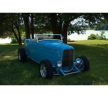 1932 Ford Roadster Hot Rod Photographic Print