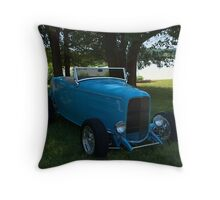1932 Ford Roadster Hot Rod Throw Pillow