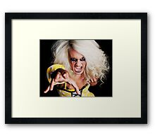Scary Spice  (Not) Framed Print