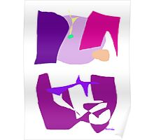 Purple Glass  Poster